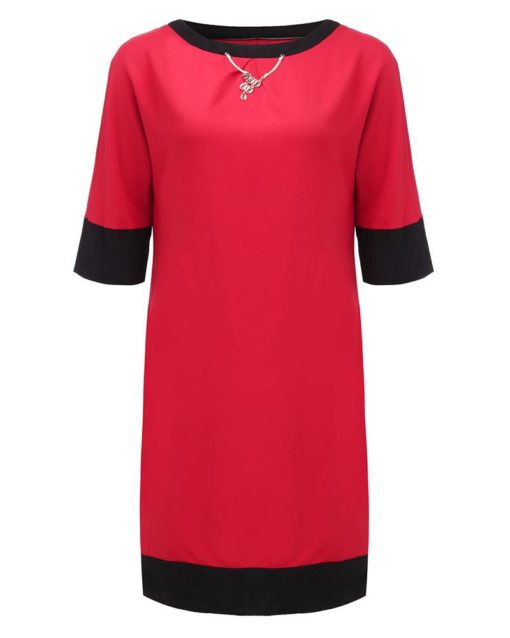 Casual Dress Round Neck