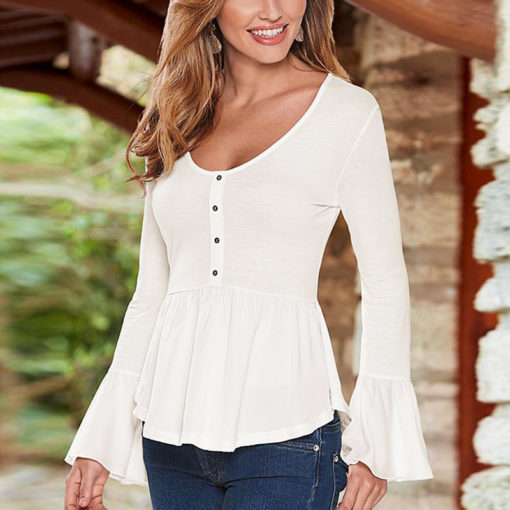 long-sleeve-casual-blouse