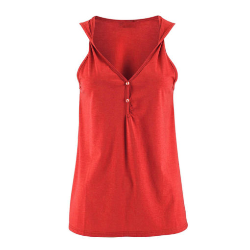 Sleeveless Twisted Strap Top