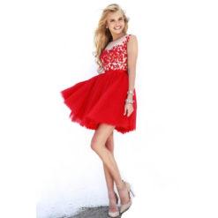 2017 new European summer dress sleeveless dress sexy openwork crochet lace stitching dresses vestidos3