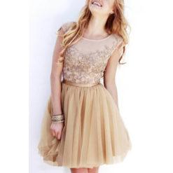 2017 new European summer dress sleeveless dress sexy openwork crochet lace stitching dresses vestidos4
