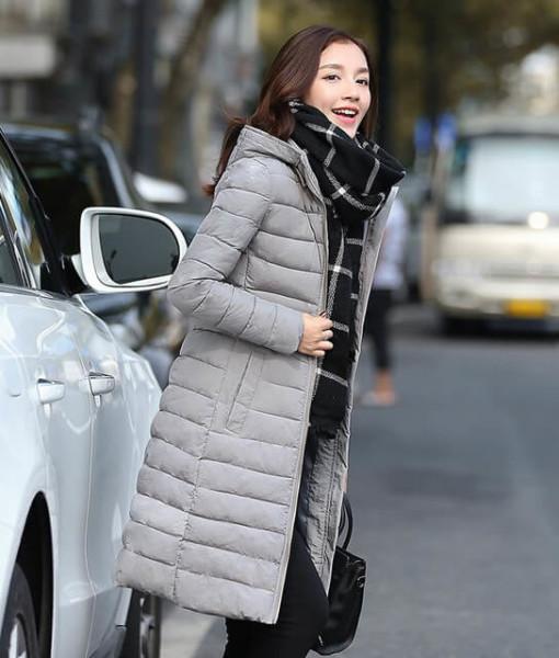 2017 new winter coat Korean version long female fashion Slim Down coat padded jacket women coats clothing vestidos