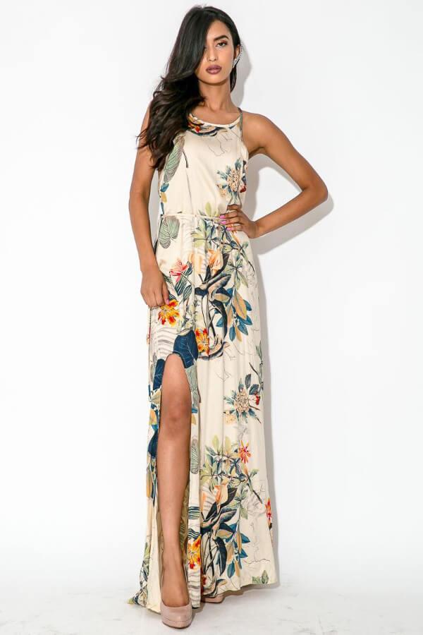 42d2a7a21b New arrival print elegant fancy ultra long dresses - Fabtag