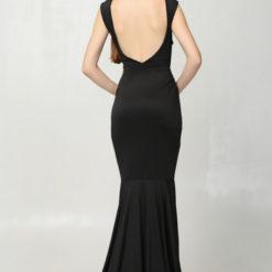 2017 Summer fashion full dresses formal dress racerback vestidos2