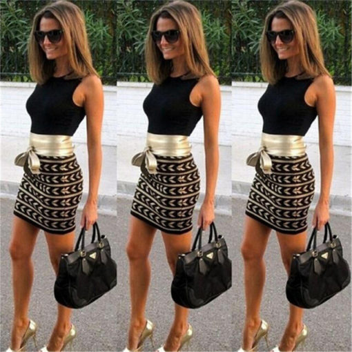 Hot sell Europe and the United States women 's fashion long – sleeved sexy package buttocks stitching printed dress