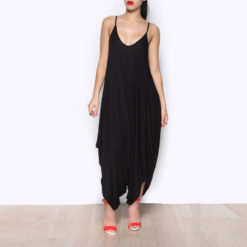 Sexy dress 2017 fashion deep v backless sexy dress European fashion Club loose strap size spot dresses vestidos2