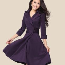 Spring 2017 new women's waist slim slim mini dress size temperament women's clothing
