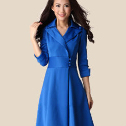 Spring 2017 new women's waist slim slim mini dress size temperament women's clothing4