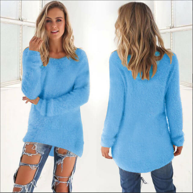 662845d68b880 Sweater women's European America burst models pull long long-sleeved women  sweaters and pullovers clothing