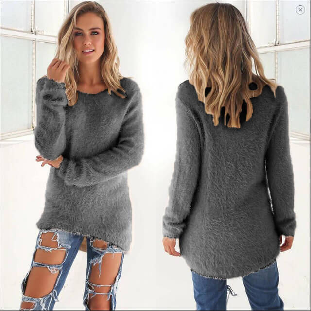 Pull long long,sleeved sweaters pullovers clothing