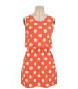 Women Summer dress 2017 new summer style O-Neck Sleeveless Slim Dot Print Chiffon Plus Size 2XL cheap vestidos dresses4