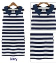 Women summer dress 2017 doll XXXL striped collar sleeveless cultivate leisure plus size dresses vestidos women's clothing2