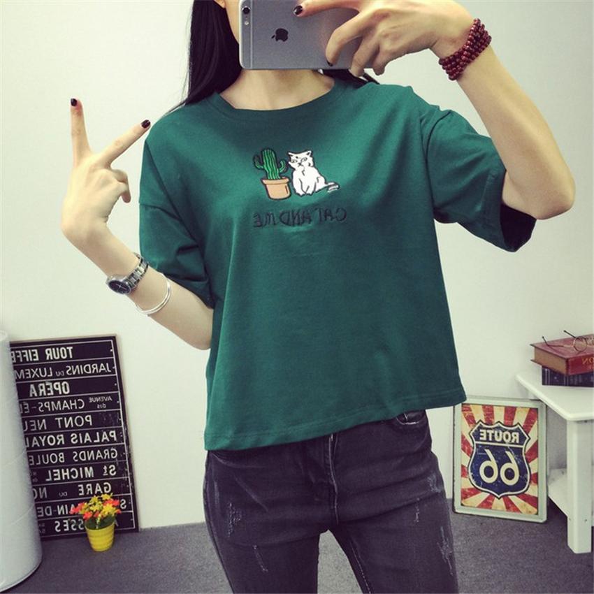 10f84094280 Merry Pretty Harajuku t shirt women Korean style t-shirt tee kawaii ...
